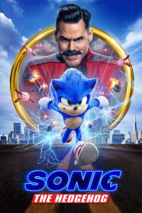 Poster for Sonic The Hedgehog